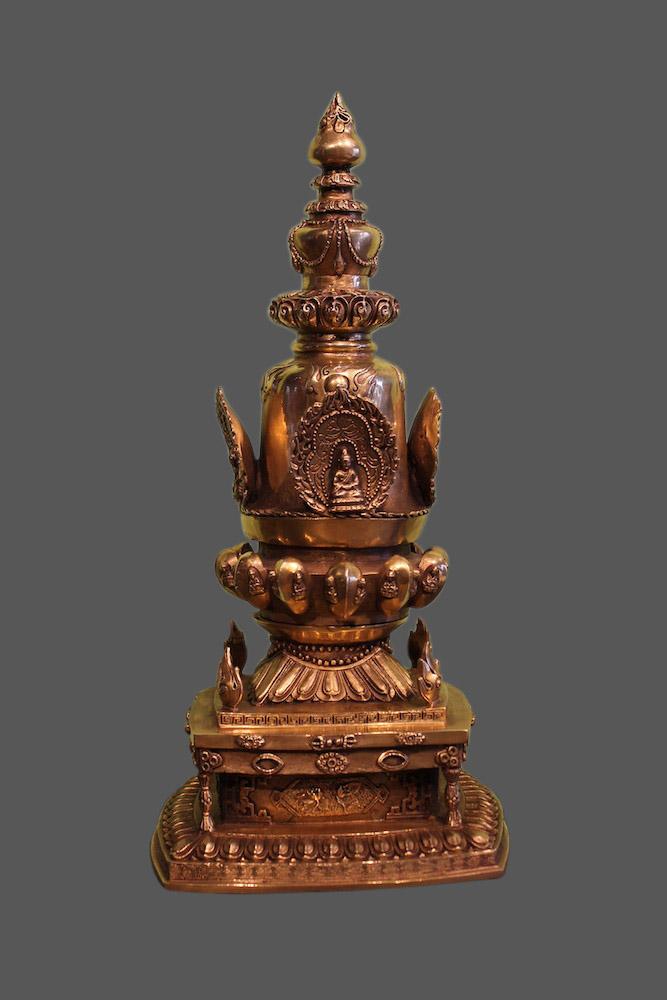 sch ne stupa statuen online kaufen bei asien lifestyle. Black Bedroom Furniture Sets. Home Design Ideas