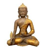 Medizin Buddha Figur Bronze (30cm) Bhaisajyaguru