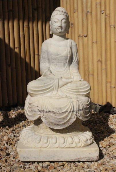 Marmorstein Garten Buddha Statue - Siddharta Gautama
