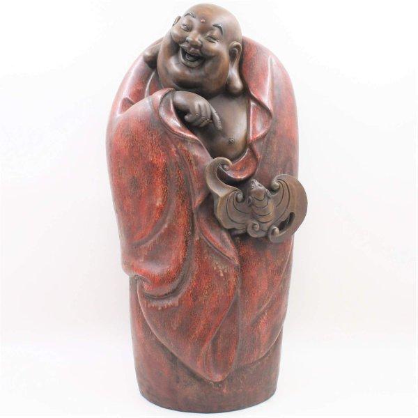 Hotai Buddha Figur (55cm) Keramik Glücksbuddha