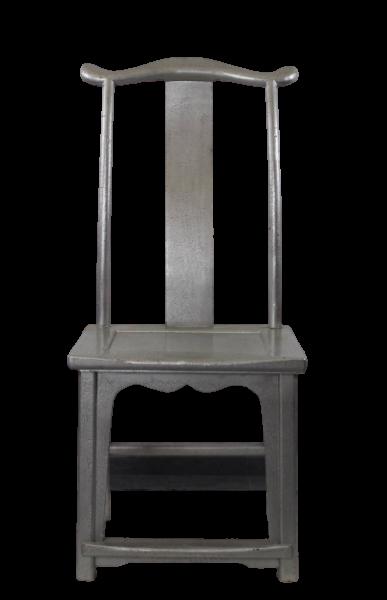 Chinesischer Thron Stuhl aus Ulmenholz