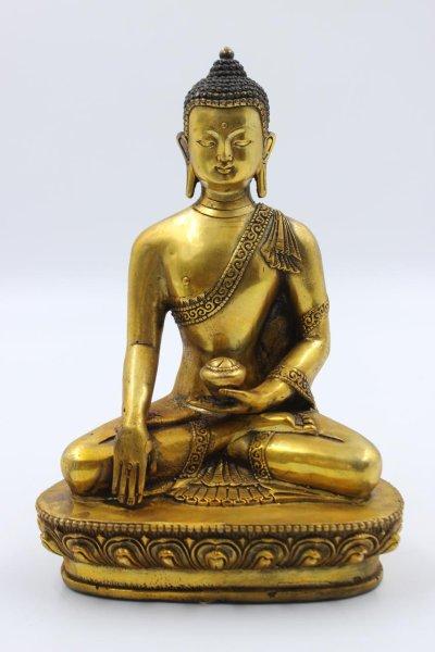 Siddharta Buddha Figtur aus Bronze