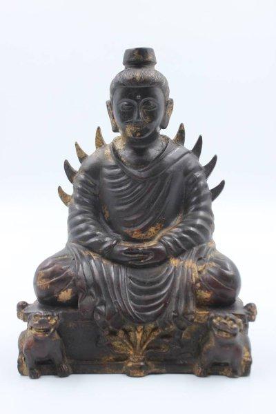Buddhistische Marpa Bronze Figur - aus China