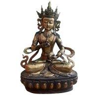 Vajrasattva Buddha Figur (97cm) Bronze Statue