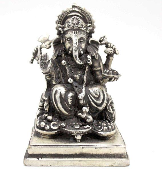 Ganesh Elefantengott Bronze (10,5cm) Hinduismus Figur