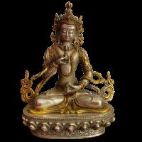 Vajrasattva Buddha Figur (21cm) Bronze Statue