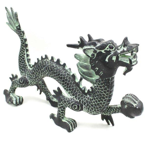 Tierkreiszeichen Drache Figur (36cm) Zink Krafttier