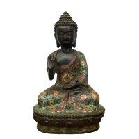Bronze Amoghasiddhi Buddha Figur (30cm) Karana Mudra