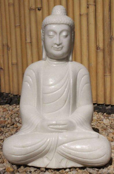 Amitabha Buddha Statue aus Marmor Stein