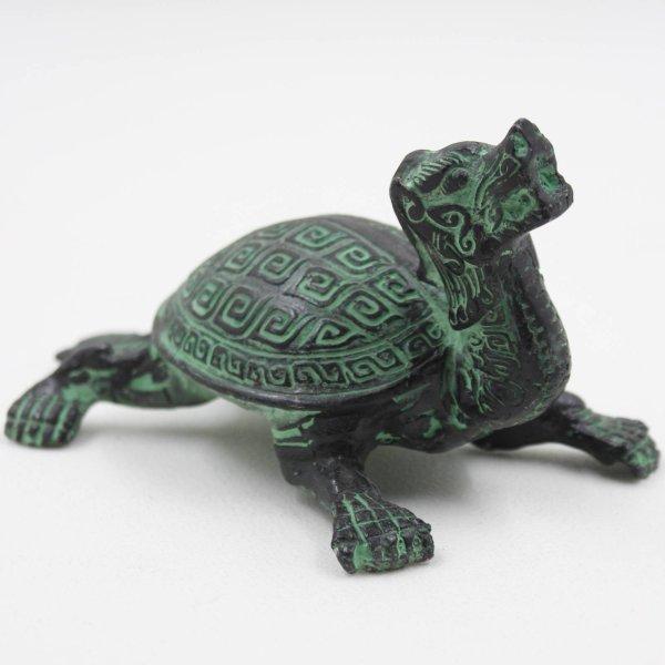 Drachen Schildkröte aus China - Reichtumssymbol