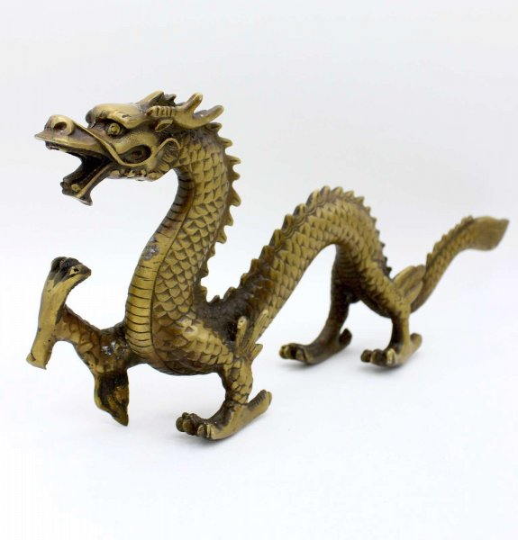 China Drachen Figur aus Bronze