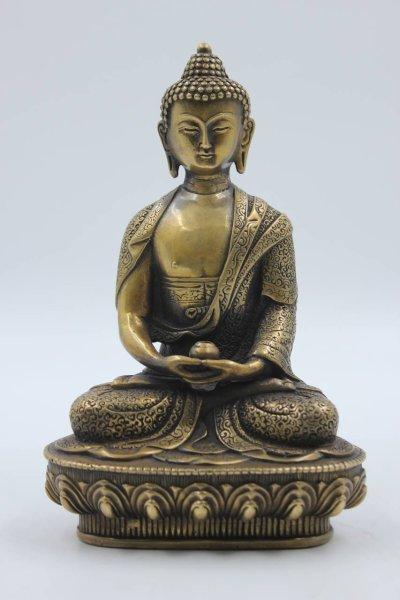 Amitabha Buddha - Buddhistische Figur aus Bronze