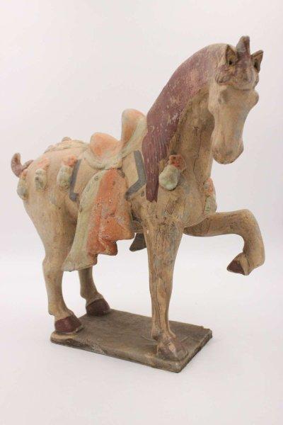 China Tang Pferd aus Ton