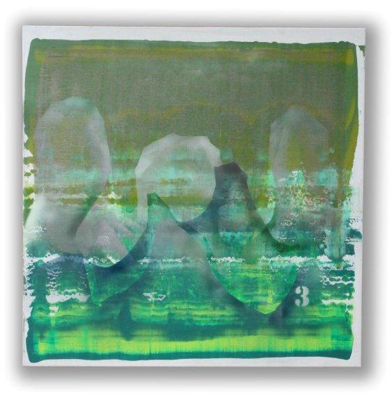 Acryl Gemälde Drache - Fengshui
