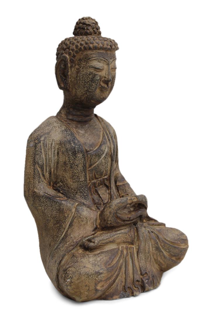buddha figuren aus stein f r den garten online kaufen. Black Bedroom Furniture Sets. Home Design Ideas