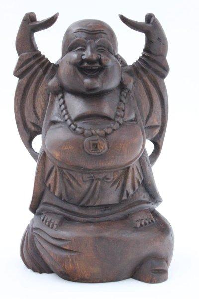 Hotai Buddha Figur, aus Holz
