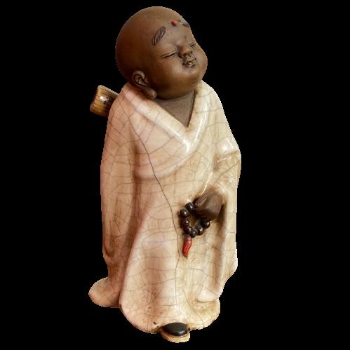 Porzellan Tong Zi Figur (27cm) Stehende Keramik Statue