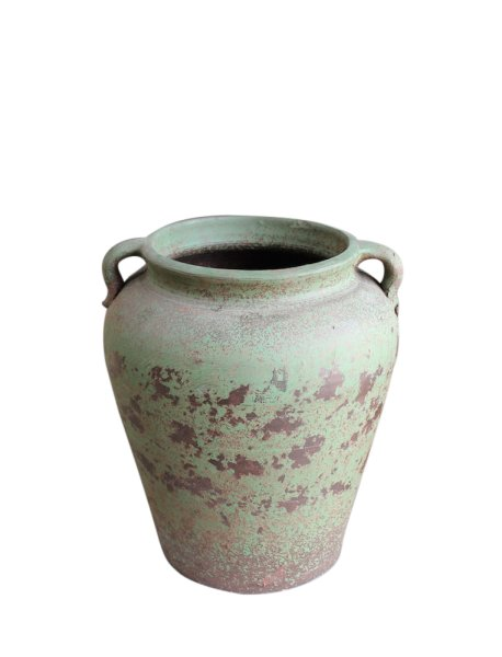 Shabby-Chic Blumen Vase im Vintage Look