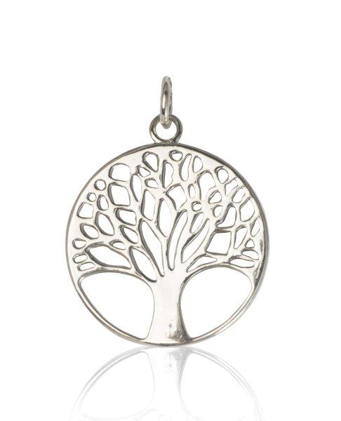 925er Silber Baum des Lebens Anhänger