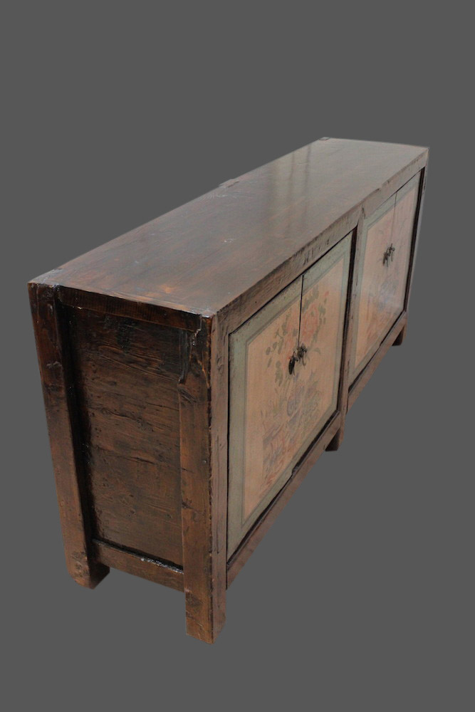 chinois commode meuble chine chubb asiatique sideboard color peint ebay. Black Bedroom Furniture Sets. Home Design Ideas