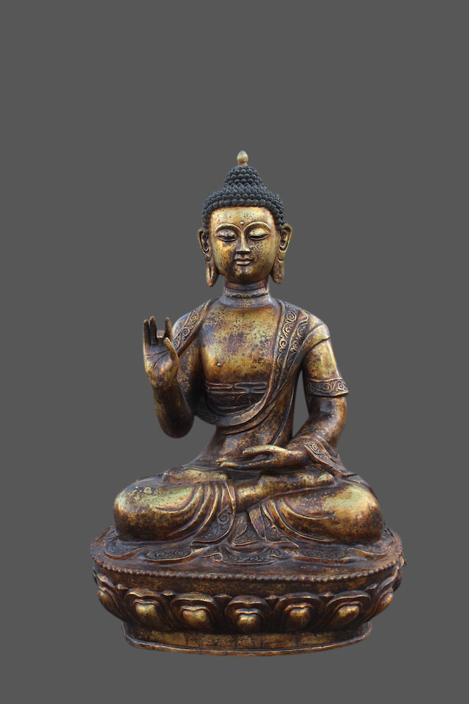 gro e buddha figur aus bronze buddha statue china budda gro asien skulptur ebay. Black Bedroom Furniture Sets. Home Design Ideas