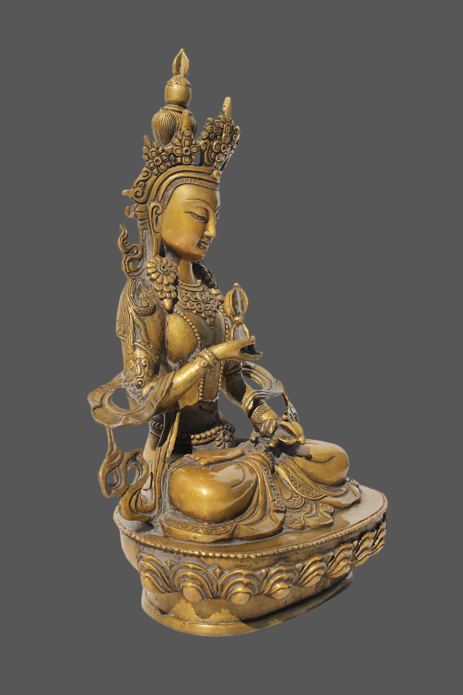 vajrasattva buddha figur bronze budda tibetische skulptur tibet buddha statue ebay. Black Bedroom Furniture Sets. Home Design Ideas