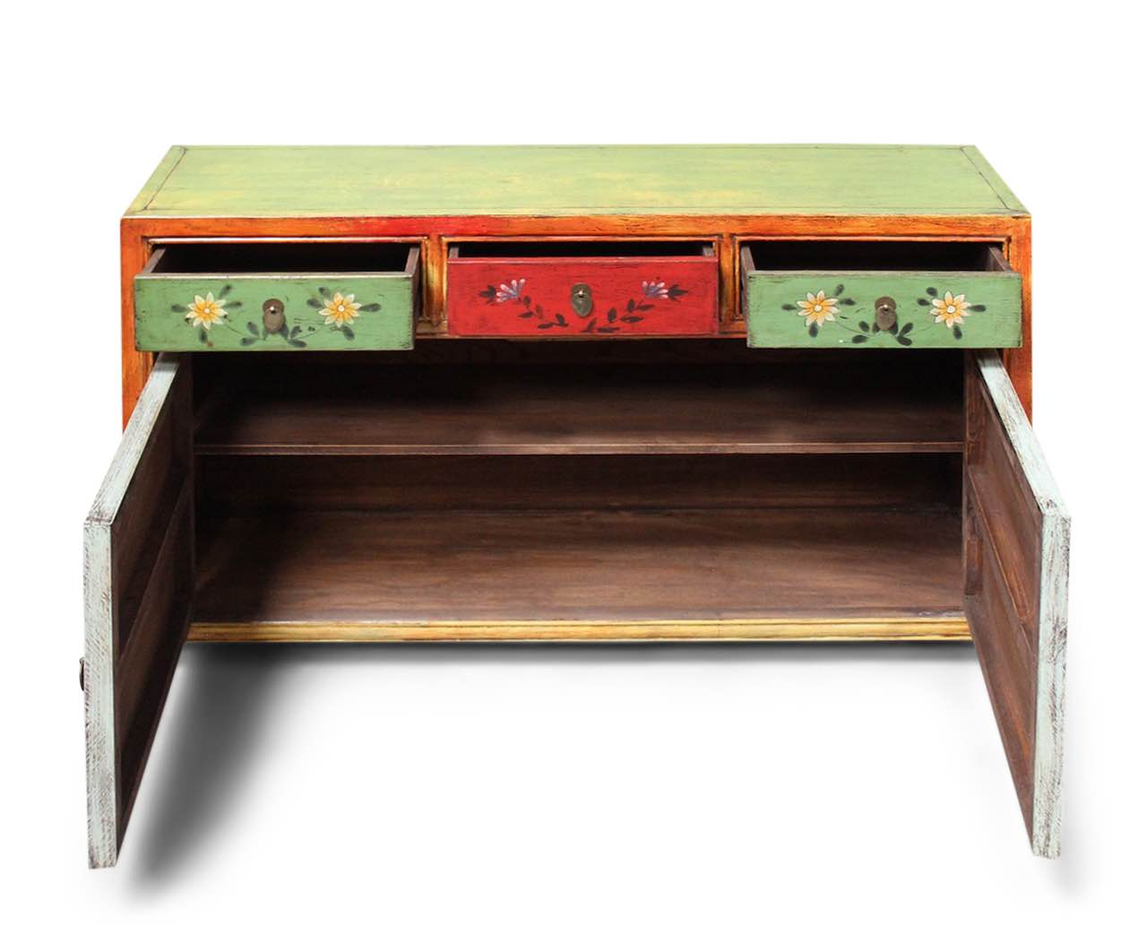 La Credenza Traduzione : Cinese credenza asia cassettiera cina mobili dipinto