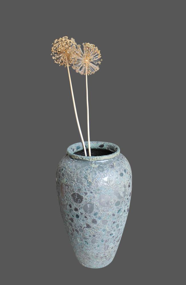 Vintage Look Vase aus Keramik - asiatischer Akzent - asiatische ...